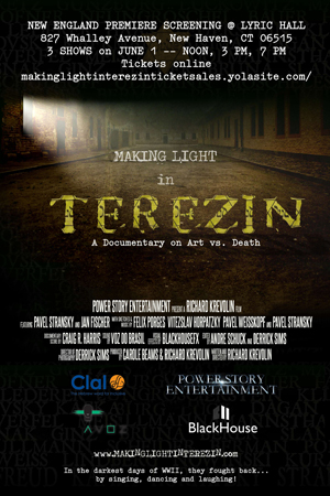 MAKING LIGHT IN TEREZIN, A documentary film