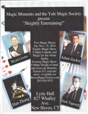 Sleightly Entertaining Magic Show