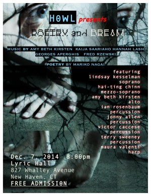 Howl Presents Poetry and Dream