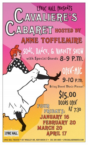CAVALIERE'S CABARET: hosted by Anne Tofflemire