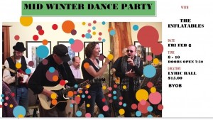 Mid Winter Dance Party with The Inflatables