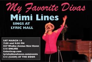 My Favorite Divas: Mimi Lines Sings at Lyric Hall