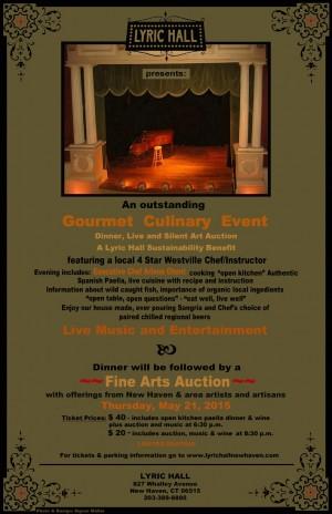 Lyric Hall Benefit Dinner and Art Auction