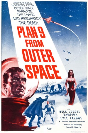 Saloon Cinema: PLAN 9 FROM OUTER SPACE (1959)