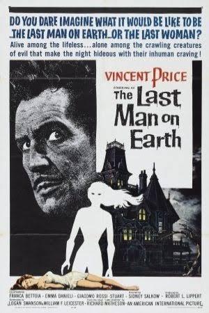 SALOON CINEMA: The Last Man on Earth (1964)