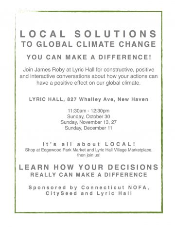 Local Solutions to Global Climate Change